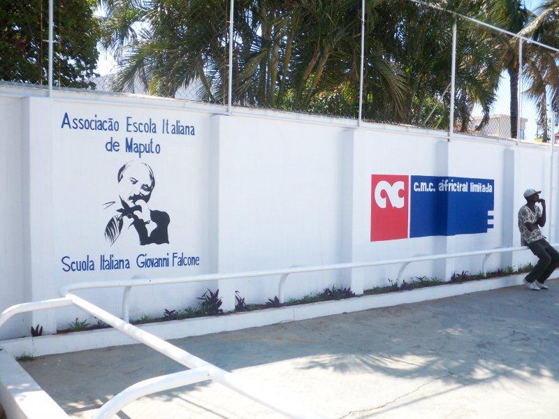 la scuola italiana Giovanni Falcone di Maputo