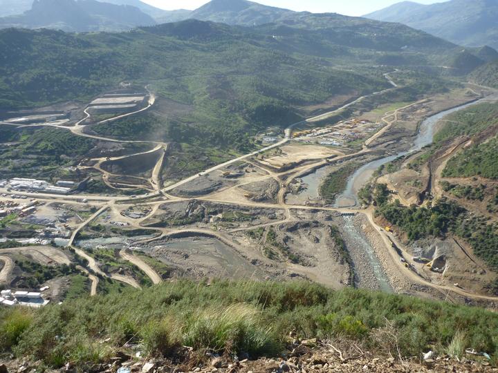 diga di tabellout in Algeria