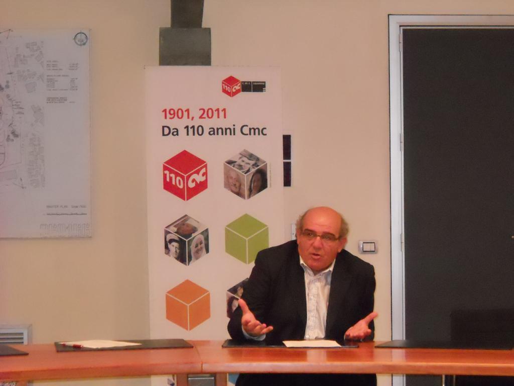 Il presidente di Cmc, Massimo Matteucci