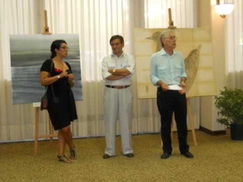 Inaugurazione premio di pittura Marina di Ravenna 2011