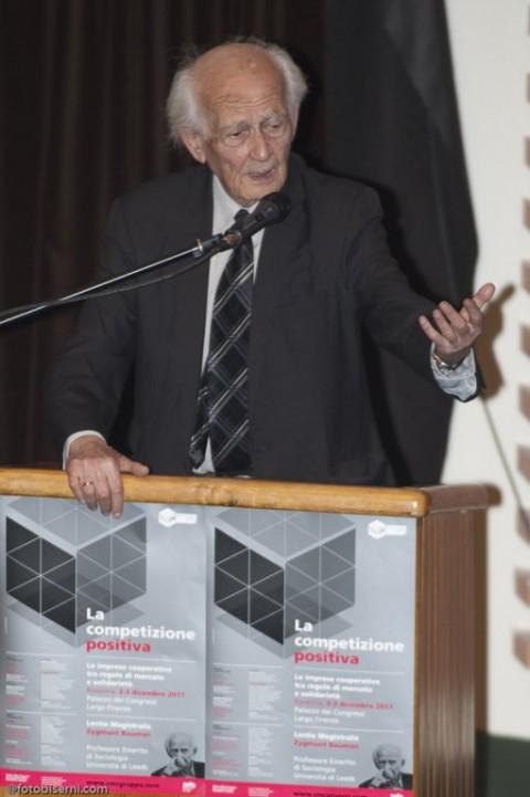 il prof. Bauman al convegno di Cmc il 2 dicembre