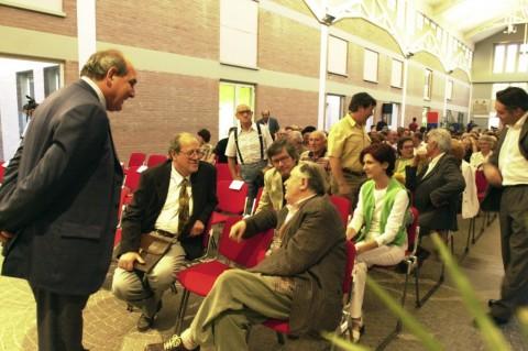 il presidente Matteucci con Tonino Guerra