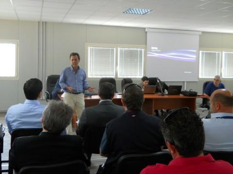 il prof. Visconti interviene al seminario
