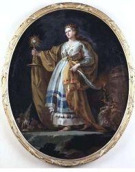 Francisco Goya, Santa Barbara, 1773. Madrid, Museo del Prado.