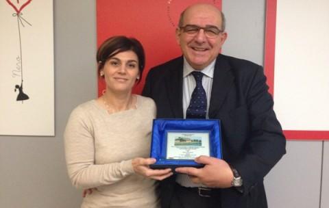 Il Presidente, Massimo Matteucci, e il Segretario Sociale, Federica Fusconi.