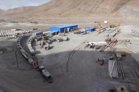 Cantierizzazione al lato Inlet: la situazine è in fase di regime.